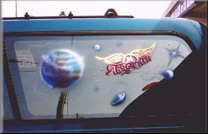 Aerosmith Fan Van